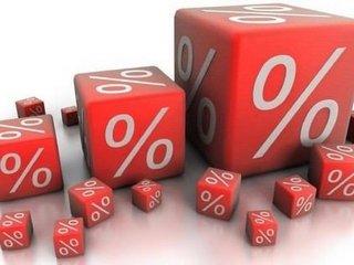Разная величина процентных ставок